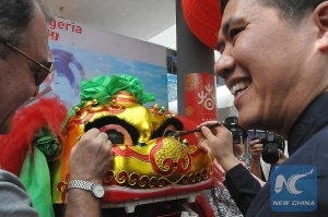 PHOTOS: Chinese Living In Nigeria Celebrate Chinese Year Of The Rooster